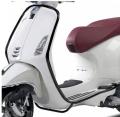 CRASH BAR FRONT SIDE MAT BLACK VESPA PRIMAVERA/SPIRIT