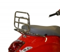 REAR CARRIER (FOLDABLE) CHROME VESPA PRIMAVERA/SPRINT