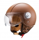 HELMET VITO LEATHER BROWN AMSTERDAM