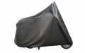 APLUS SCOOTERCOVER BLACK XL WINDSHIELD + CASE