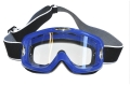 MOTOCROSS GLASSES BLUE