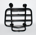 FRONT CARRIER APLUS FITTING ON VESPA SPRINT/PRIMAVERA MATT BLACK