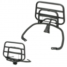 APLUS REAR CARRIER FITTING ON VESPA SPRINT/PRIMAVERA MATT BLACK