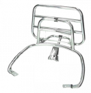 REAR CARRIER APLUS FITTING ON VESPA SPRINT/PRIMAVERA CHROME