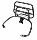 APLUS REAR CARRIER FITTING ON VESPA SPRINT/PRIMAVERA SHINY BLACK
