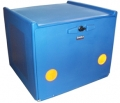 PIZZA BOX BLUE DOUBLE INSULATION 90 LITERS