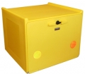 PIZZA BOX YELLOW DOUBLE INSULATION 90 LITERS