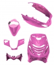 BODY KIT APLUS FITTING ON PIAGGIO ZIP SP 5 PIECES SHINY PINK
