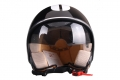 HELMET KIWI SPECIAL LEATHER SHINY BLACK