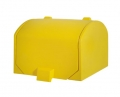 DELIVERY BOX APLUS 60LITER ISOLATED YELLOW