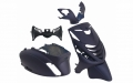 BODY KIT APLUS FITTING ON PIAGGIO ZIP-SP 5-PIECES - MIDNIGHT BLUE