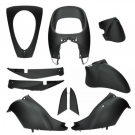 BODYKIT APLUS FITS SYM MITO 10 PIECES MAT BLACK