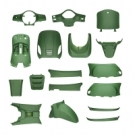 BODY KIT APLUS LOOK A LIKE LX/S MATTE GREEN 19 PIECES