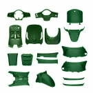 BODYKIT APLUS LOOK A LIKE LX / S MATTE GREEN 19 PARTS - NEW FRONT