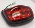 TAILLIGHT IN BLACK CAP LOOK A LIKE LX/S - EU APPROVED