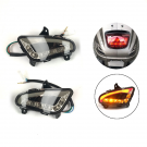 LED BACK TURN SIGNAL LEFT  + RIGHT LOOK A LIKE LX / S (E MARK)