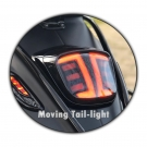 TAIL LIGHT APLUS LED/TUBE FITTING ON SPRINT/PRIMAVERA E4- SMOKE