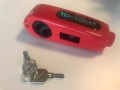 GRIP TOP LOCK METAL - RED