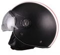 VITO JET HELMET LEATHER ROMA