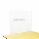 PROTECTIVE SCREEN FOR CASHIERS FROM ISOTTA - 80X100CM